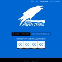 Screenshot deel homepage raventrails.nl