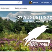 screenshot Facebookpagina Raven Trails